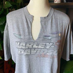 vintage Harley Davidson roadrunner and pals tee